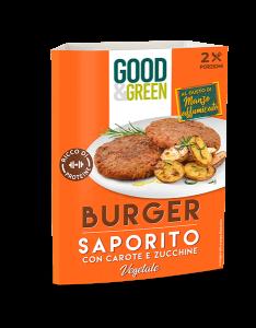 Burger vegetali al gusto di manzo affumicato
